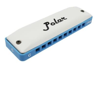 Harmo Polar Super Country harmonica Key G