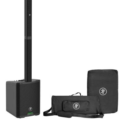 Mackie SRM-Flex 1300w Portable Line Array DJ Speaker PA System w/Sub+Carry Bag