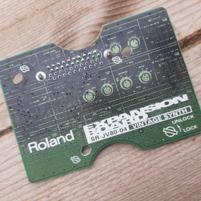 Roland SR-JV80-04 Vintage Synth Expansion Board RECAPPED