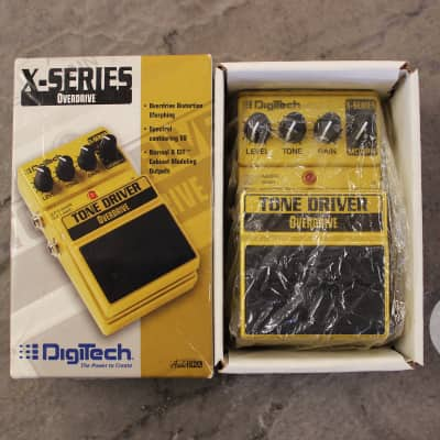 Digitech Tone Driver Overdrive - store demo w/box & papers - Free Shipping! for sale