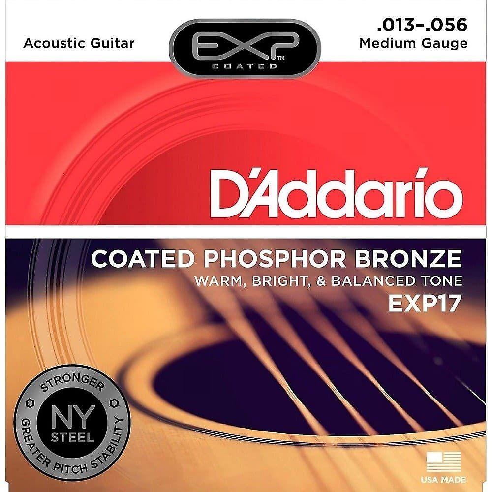 d 39 addario exp17 coated medium acoustic guitar strings reverb. Black Bedroom Furniture Sets. Home Design Ideas