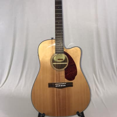 Fender CD-140SCE Acoustic/Electric Guitar – Natural for sale