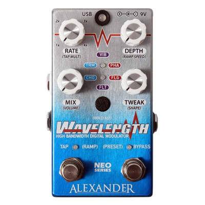 Alexander Wavelength High Bandwidth Digital Modulator