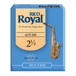 10 Pack Rico Alto Saxophone Reeds # 2 Strength 2 RJA1020