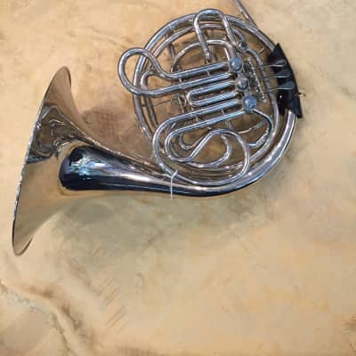 Musikwerks Double French Horn NEW-Copy of 8D-Nickel Plated-Nice Player-Economical!