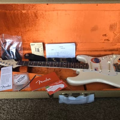 Fender Jeff Beck Artist Series Signature Stratocaster Olympic White w/ Upgrades