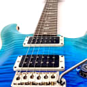 Paul Reed Smith Custom 24 10 Top - Blue Fade - Authorized PRS Dealer