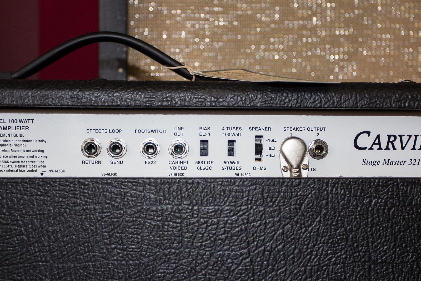 Carvin Stage Master 3212 100 Watt Tube Guitar Amp Usa Amplifier
