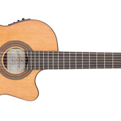 Kremona Fiesta Soloist F65CW Nylon Acoustic/Electric Guitar for sale