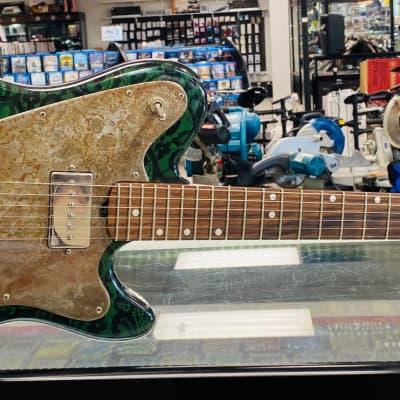 M-Tone Counterpunch Green Paisley for sale