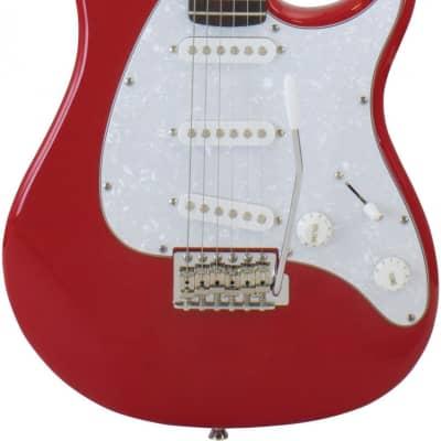 Peavey Raptor Custom Electric Guitar SSS - Red for sale
