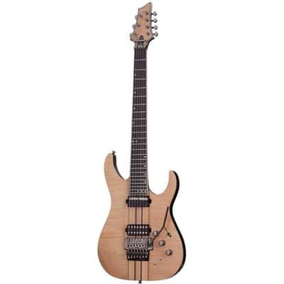 Schecter Banshee Elite 7 FR S Gloss Natural GNAT 1253 7 String Electric Guitar for sale
