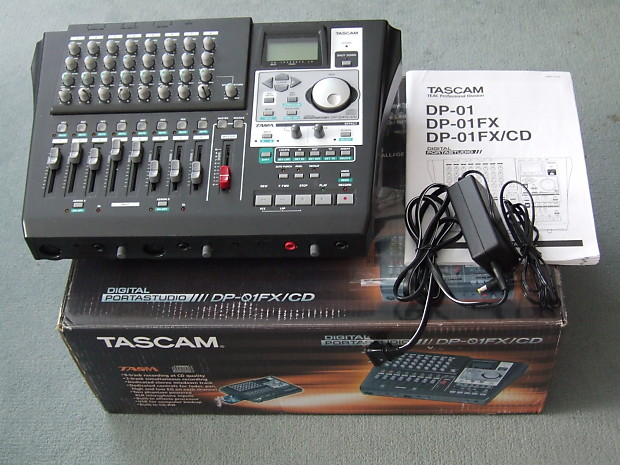 Tascam PortaStudio DP-01FX/CD 2009 Black