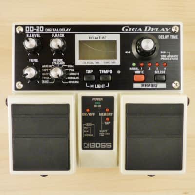 Boss DD-20 Digital Giga Delay Twin Pedal - Amazing Multi Effect Guitar Pedal - Very Good Condition image