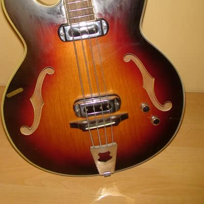 Musima 1657 GDR Germany Bass Guitar Vintage for sale
