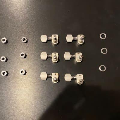 Sperzel Solid Pro 6 inline Tuners Satin Chrome