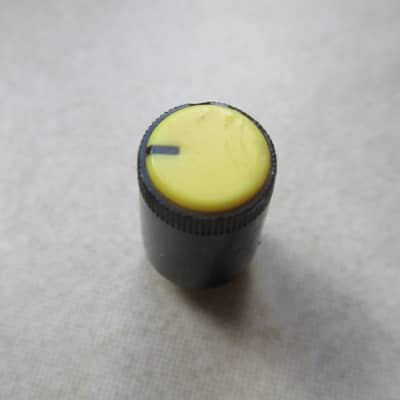 Roland DEP 5 Pot cover / knob > D Shaft 1980 Yellow