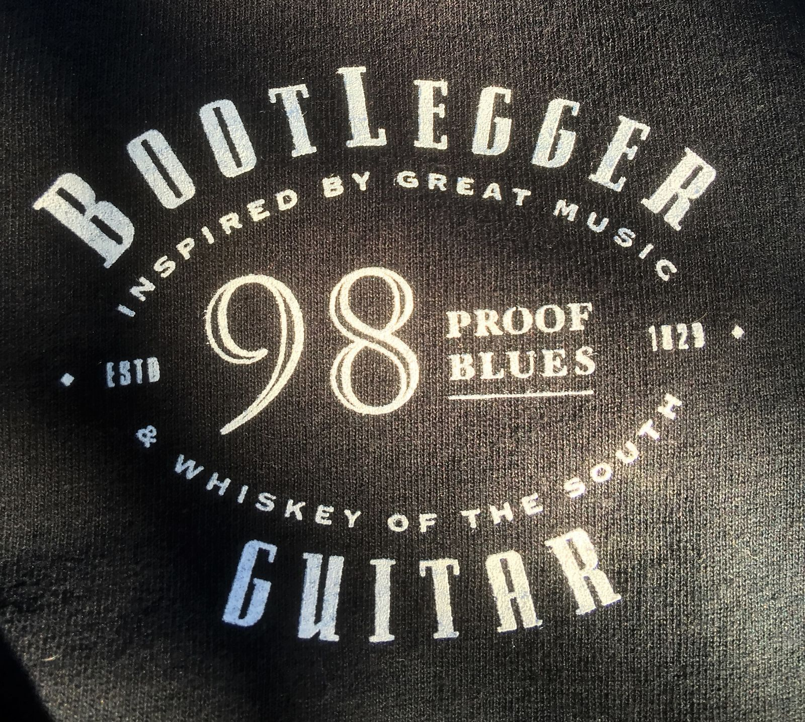 Bootlegger  T shirt 98 Proof