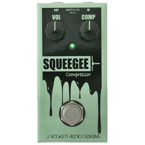 J. Rockett Audio Designs Jet Series Squeegee Compressor Guitar Effects Pedal, Limited Run Anniversary Collection for sale