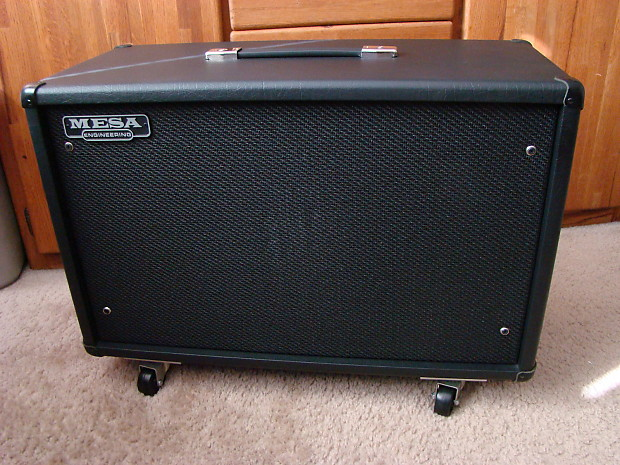 Mesa Boogie 3 4 Back Guitar Amp Cabinet W Black Shadow 2x12 Celestion 90s FREE Shipping