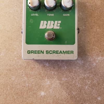 BBE Green Screamer Overdrive Pedal