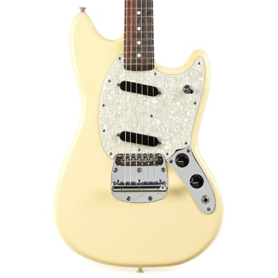 Used Fender American Performer Mustang Rosewood in Vintage White