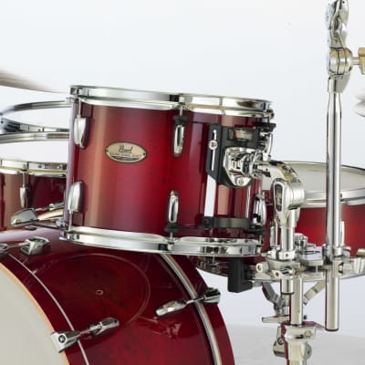 "Pearl Session Studio Select 10""x7"" Tom ANTIQUE CRIMSON BURST STS1007T/C315 Drum"
