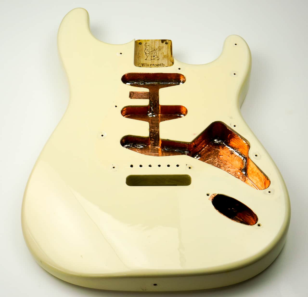 Warmoth Stratocaster Body Chambered Reverb