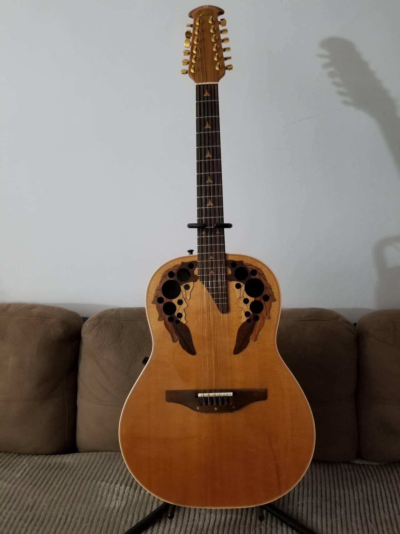 ovation 1758 elite 12 string acoustic electric guitar reverb. Black Bedroom Furniture Sets. Home Design Ideas