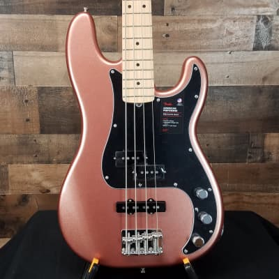 Fender American Performer Precision Bass P Bass in Penny Finish, Open Box, Free Shipping