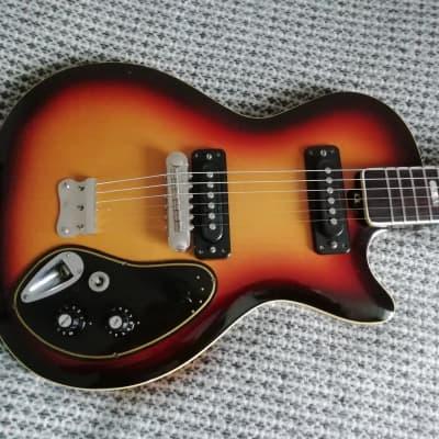 Musima de Luxe 25k 1970s 3 Tone Sunburst Singlecut for sale