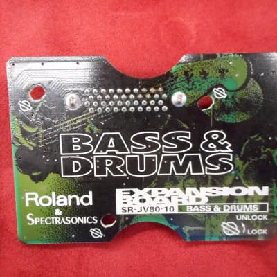 Roland SR-JV80-10 bass and drums Expansion Board card Best Offer welcome.  This is for 1 card only!