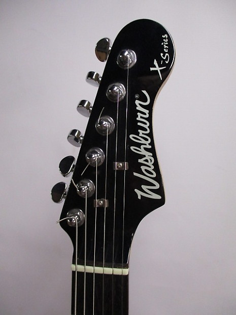 Washburn X-Series HSS Strat-Style Electric Guitar Black ...