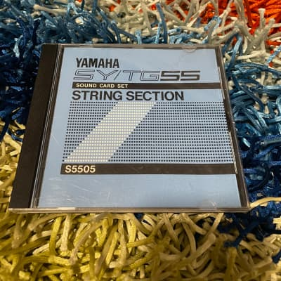 Yamaha SY/TG55 String Section Sound Card
