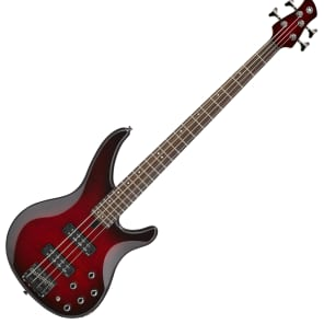Yamaha TRBX604FM 4-String Dark Red Burst