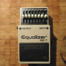 Boss GE-7 Graphic EQ Grey