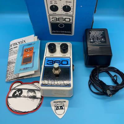 Electro-Harmonix Nano Looper 360 w/Original Box +Power Supply | Fast Shipping!