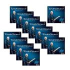 12-Pack GHS David Gilmour Signature Series Electric Guitar Strings Blue Set (10-48) image