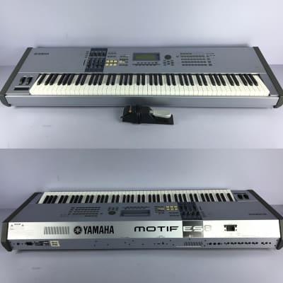 Yamaha Motif ES8 ES-8 Synthesizer Keyboard with 88 Full-Size Keys + Pedal
