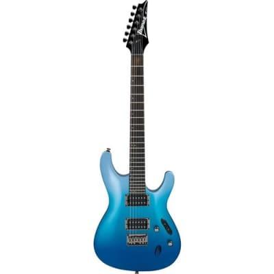 Ibanez S Standard S521 Electric Guitar, Rosewood Fretboard, Ocean Fade Metallic