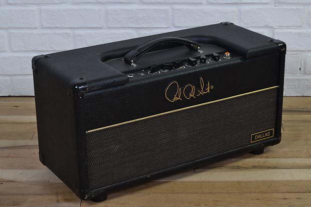 prs super dallas 50 watt tube guitar amp head excellent used reverb. Black Bedroom Furniture Sets. Home Design Ideas