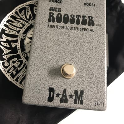 D*A*M Supa Rooster DAM Red rooster treble booster Mullard OC43 Dallas Rangemaster Sola sound for sale