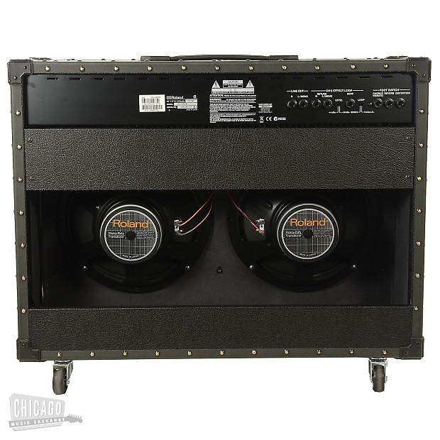 roland jc 120 jazz chorus 2x12 combo amp 120w 60w 60w reverb. Black Bedroom Furniture Sets. Home Design Ideas