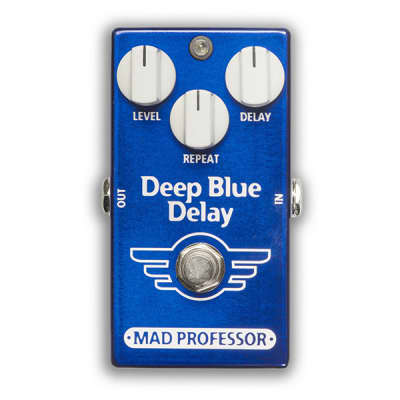 Mad Professor BJF Design Deep Blue Delay - Natural Sounding Digital/Analog Delay for sale