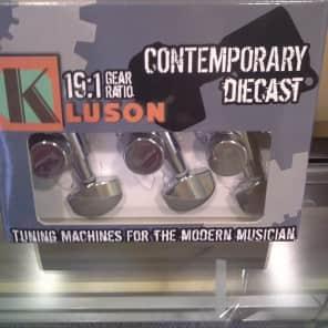 Kluson KL-3801C 3x3 Contemporary Locking Tuners - 19:1