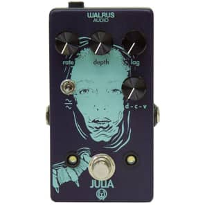 Walrus Audio Julia Analog Chorus Vibrato Lag LFO Wave Shape Guitar Effects Pedal for sale
