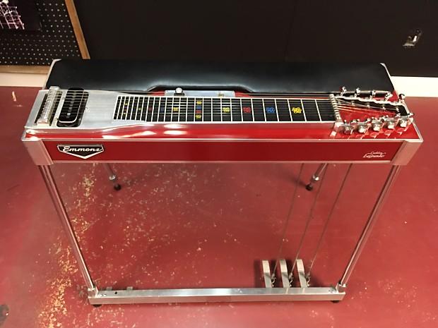 emmons lashley legrande sd10 red 3x5 pedal steel guitar w reverb. Black Bedroom Furniture Sets. Home Design Ideas