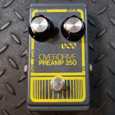 DOD Overdrive Preamp 250 Vintage 1979 Grey Box UA741CN Chip Boost