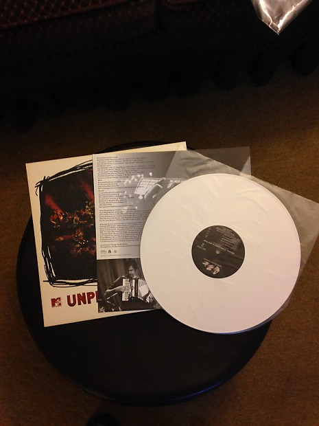 1994 Nirvana Unplugged White Vinyl Original Pressing Reverb