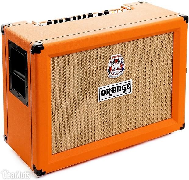 orange crush cr120c 120 watt 2x12 combo amp gearnuts reverb. Black Bedroom Furniture Sets. Home Design Ideas